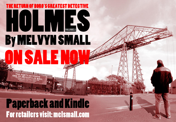 Holmes Volume 2: On sale in paperback and Kindle ebook